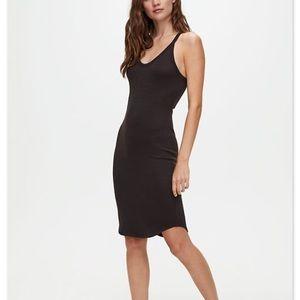 Aritzia Wilfred Free Black Tank Dress